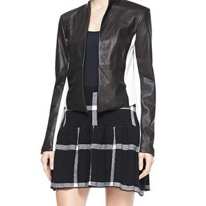 Alice + Olivia Kimora checkered skirt